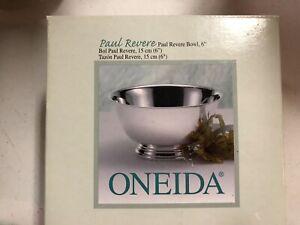 """ONEIDA PAUL REVERE STERLING BOWL -  6"""" - NEW IN BOX"""