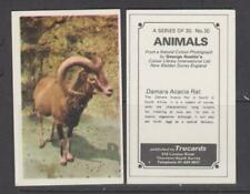 TRADE CARDS Trucards 1970 Animals - complete set