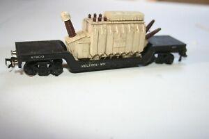 TTR Weltrol 41900 bogie well wagon with Siemens transformer - OO Gauge rare