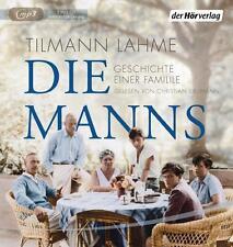 Lahme, Tilmann - Die Manns: Geschichte einer Familie - CD