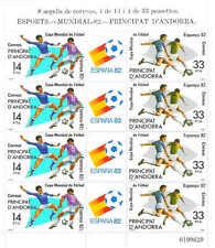 100 x Spanish ANDORRA Scott# 146a MNH SS Soccer World Cup ESPAÑA 1982