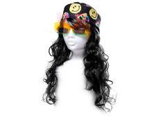 Woll PARRUCCA CLOWN wollperücke Clownin Frack patta Pantaloni Hippie Costume Vestito Cappello