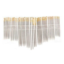 Combination tail gold plated hand sewing needles stainless steel knitting nee'UK