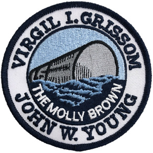 NASA Gemini 3 - 'The Molly Brown' John Young/Virgil Grissom Embroidered Patch