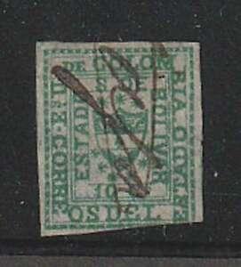 D2625: Colombia, Bolivar #1 Used, Sound, COA; CV $600