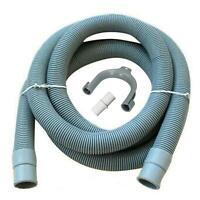 Universal Washing Machine Waste Drain Hose Extension Pipe 3M 19/22mm Bore