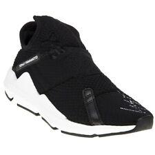 9d6ee7d1b0b8c New MENS Y-3 BLACK REBERU TEXTILE Sneakers CHUNKY SNEAKERS