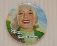 New Anne Taintor Vintage Revisited Celebrating 30 Years of Laughter Purse Mirror