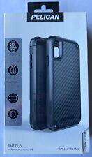 "NEW Pelican Shield Heavy Duty Case w/ Clip for iPhone Xs Max (6.5"") - Black"