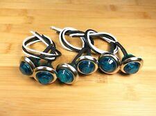 6 BBT 12 volt Blue LED Stainless Steel Landscape Courtesy Lights
