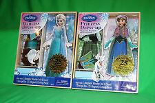 Artistic Studios Disney Frozen Elsa & Anna Wooden Magnetic Playsets (25-Piece)