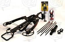 2017 Scorpyd Deathstalker Crossbow 130lb Black Soft Touch Custom Kit NEW!!!