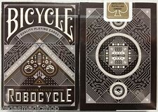 Robocycle Black Deck Bicycle Playing Cards Poker Size USPCC Custom Limited New