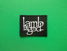 HEAVY METAL PUNK ROCK MUSIC FESTIVAL SEW ON / IRON ON PATCH:- LAMB OF GOD (a)