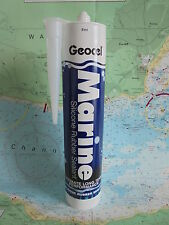 Geocel® Marine Silicone Rubber Sealant for Boat Caravan Car Yacht (In two sizes)