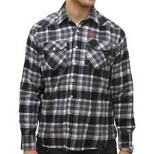 Camisas y polos de hombre de manga larga de color principal negro talla M