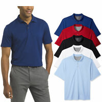 Van Heusen Men's Big and Tall Air Short Sleeve Polo