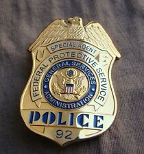 US SPECIAL AGENT F.P.S. METAL PIN PROPS COLLECTION BADGE Halloween Metal Badge