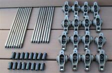 Crower Enduro Roller Rocker Arms Big Block Chevy Stainless Steel w/ Pushrods WOW