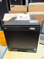 290 PRINTS DELL 2130CN FX890 USB Network Farbe Color Laser Printer FULL TONERS
