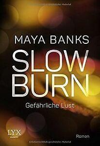 Slow Burn - Gefährliche Lust von Banks, Maya   Buch   Zustand sehr gut