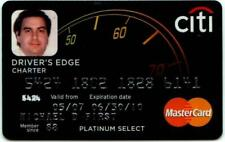 Expired 06/2010 Citi Bank Drivers Edge Master Card Platinum Select