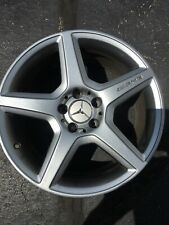 New Listing2008 2009 Mercedes Benz E550 18x8.5 Spoke Amg Wheel Rim Metallic Silver W211