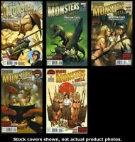 Where Monsters Dwell (2nd Series) 1 2 3 4 5 Complete Set Run Lot 1-5 VF