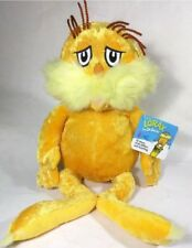 """Kohl's Cares Kohls Dr. Seuss The Lorax with tags 17"""" Plush Character New NWT"""
