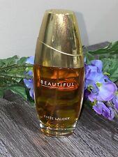 Vintage Estee Lauder Beautiful Eau de Parfum Spray 2.5 oz  ~ Full