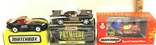 3 Pc Matchbox Superfast Toy Fair Convention Collector Club Diecast Rare Limited
