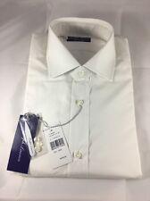Polo Ralph Lauren Purple Label Tailored Bond White Dress Shirt Size 15 1/2 M
