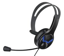 Project Sustain Wired Chat Headset for PlayStation 4 - Black
