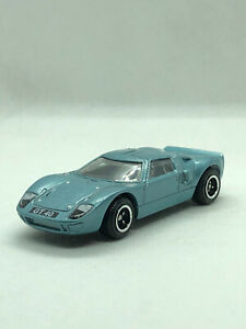 Matchbox Ford GT40 Metalflake Light Blue 2020 MB995 - Unpackaged