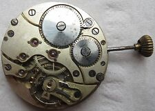 Xfine Chronometre Pocket Watch movement balance broken stem to 12