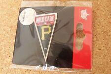2014 Pittsburgh Pirates Wild Card pennant lapel pin NL MLB postseason WC