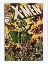 New listing X-Men #50 Steranko Cover, 2nd App Polaris, Origin Beast Marvel Comics 1968 Vg-