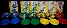 Lego X-Pod Lot of 7 Sets 100% Complete 4346 4347 4348 4349 Red Yellow Blue Green
