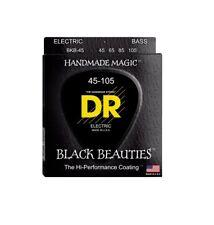 DR Strings BKB-45 Black Beauties Electric Bass Strings, 45-105
