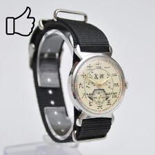 Vintage Reloj Pobeda Chino Reloj de Pulsera Sammleruhr Reloj Hecho en Urss 2609