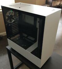 NZXT H510 Compact ATX Mid-Tower PC Gaming Case - White/Black