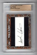 2018 Leaf Heroes of the Game Cut Signature Isiah Thomas Autograph (PISTONS)