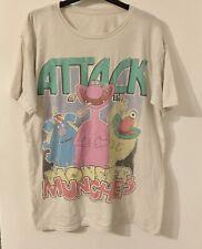 More details for rare retro monster munch t shirt large 2009