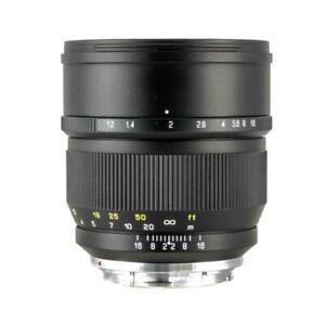 Zhongyi Mitakon 85mm F1.2 Large Aperture Manual Lens F Sony Canon Nikon Fujifilm