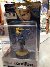 Amiibo Samus Tuta Zero Super Smash Bros Collection No.40 NUOVO SIGILLATO