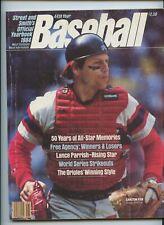 Street Smith Baseball Yearbook 1984 Carlton Fisk Chicago White Sox