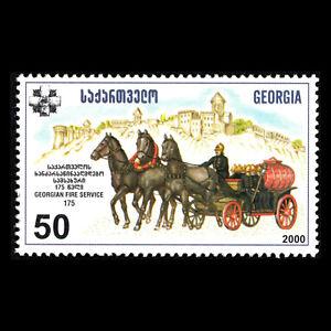 Georgia 2000 - 175th Anniv. of Georgian Fire-prevention Service - Sc 269 MNH