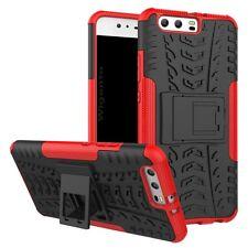 Neuf Etui Hybride 2 pièces Extérieur Rouge pour Huawei P10 étui Housse coque
