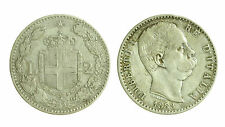 pcc1276_2) Regno Umberto I (1878-1900) Lire 2 Stemma  1883