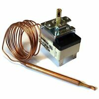 Thermostat with Capillary Tube 30-150°C 16A 3k NO + NC Control 1500mm CEWAL